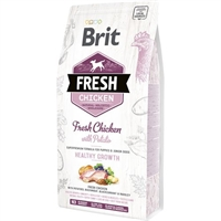 2,5 kg Brit Fresh Hvalpefoder small og medium