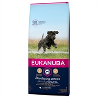 12 kg Eukanuba hvalpefoder med kylling Developing Junior Large Breed